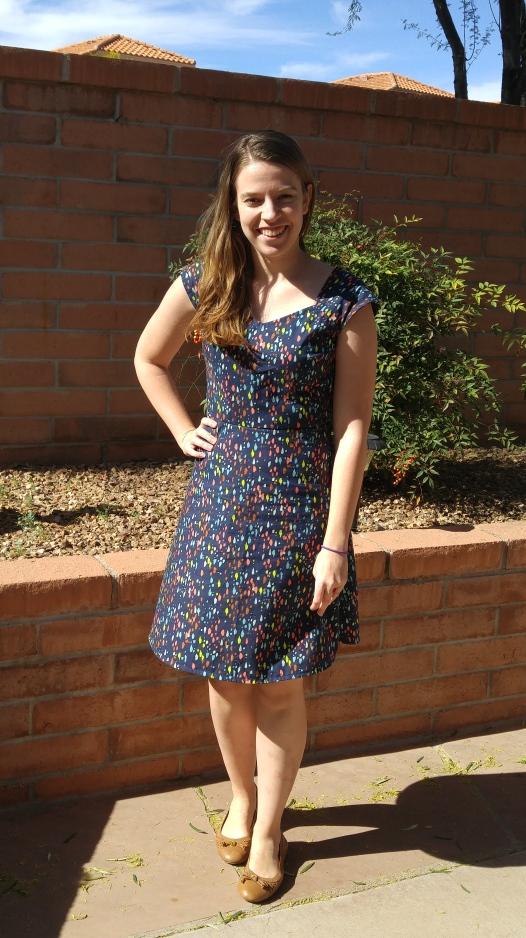 basic stitch   cross-back dress [simplicity 1373]