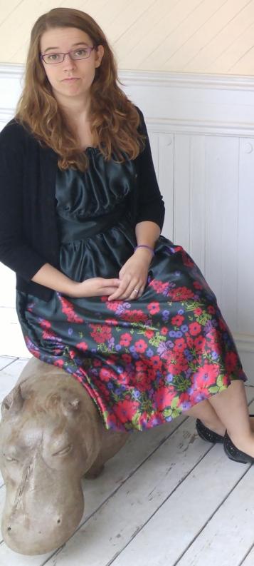 basic stitch   Vintage Easter Dress (Vogue 8728)