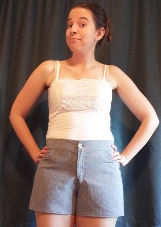 basic stitch | maritime shorts